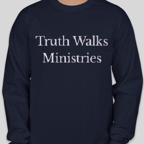 Truth Walks Ministries Staff Long Sleeve Tee