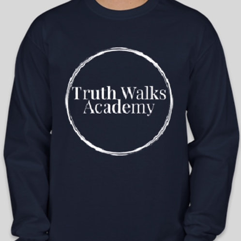 Truth Walks Staff Academy Long Sleeve Tee