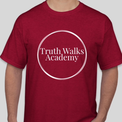 Truth Walks Staff Academy Tee Shirt