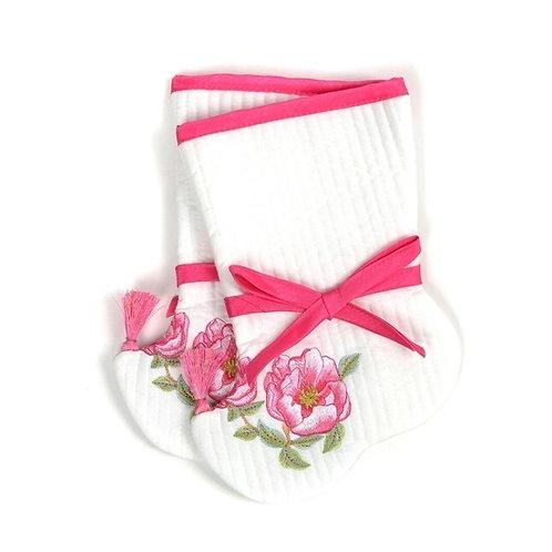 女児用のポソン (韓服用の靴下) チョゴリ用靴下