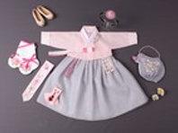 スビン-桜 チマチョゴリ 韓服 1歳