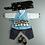 Thumbnail: 男子韓服 牡丹刺繍 ブルー 1歳
