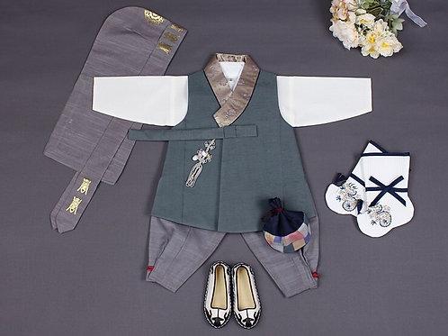 ヤンセッタン-グリン パジチョゴリ 韓服