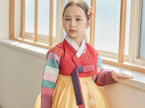 エンドゥラン 女子韓服 1号 5号