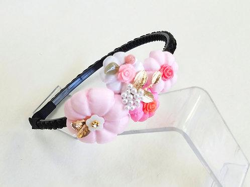 ホバッとお花のカチューシャ チョゴリアクセサリー 韓服