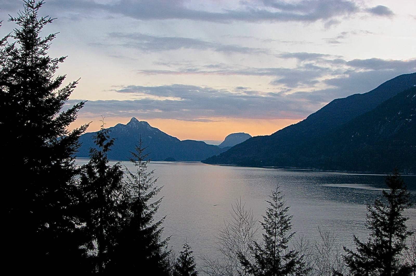 Howe Sound near Squamish, BC