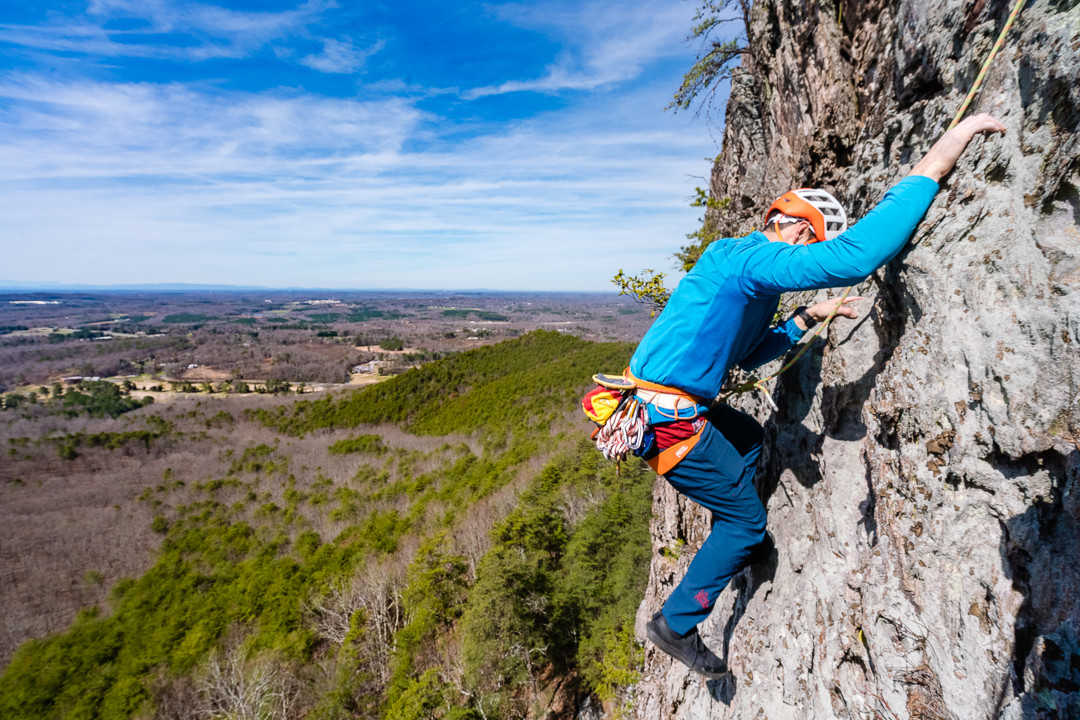 Rock Climbing in North Carolina