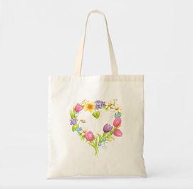 Floral Wreath Tote | Audrey Designs