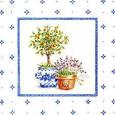 Topiary Print | Audrey Designs