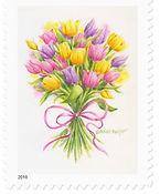 Tulip Bouquet Stamp