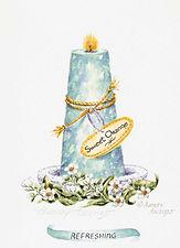 Sweet Orange Aromatherapy Candle | Audrey Designs