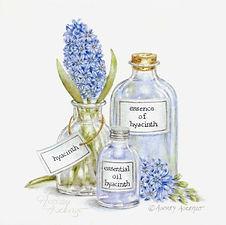 Hyacinth Aromatherapy Print | Audrey Designs