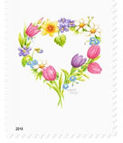 Floral Wreath Stamp   Audrey Designs