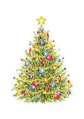 Christmas Tree Card | Audrey Designs