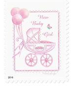 New Baby Stamp | Audrey Designs