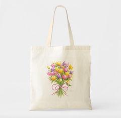 Tulip Bouquet Tote | Audrey Designs