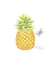 Pineapple Card   Audrey Designs