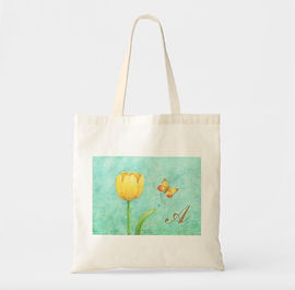 Tulip and Butterfly Tote | Audrey Designs