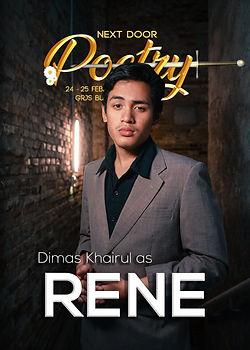 Dimas Khairul as King Sagasea