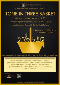 Tone In Three Basket