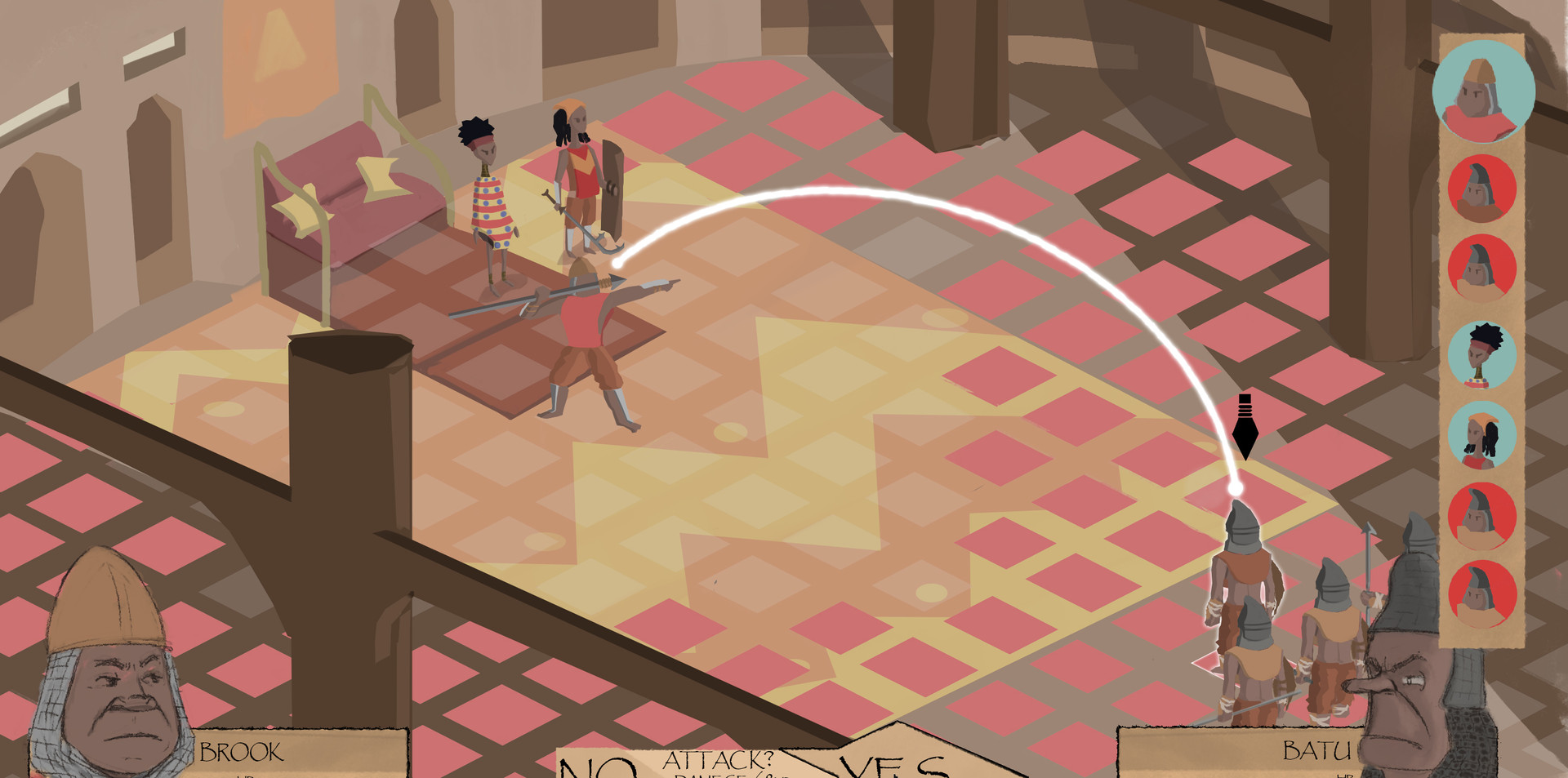 Tactical RPG Project_(Game Screen)_4