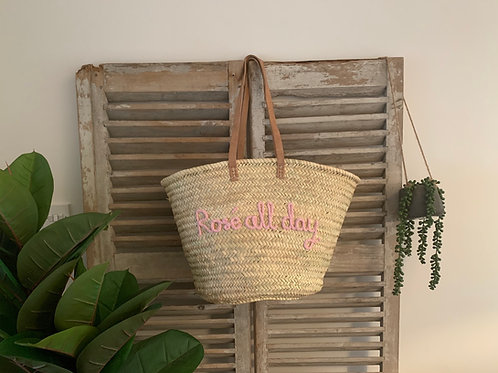 Bespoke market basket (choose any wording)
