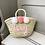 Thumbnail: Bespoke Children's Basket (straw handle)