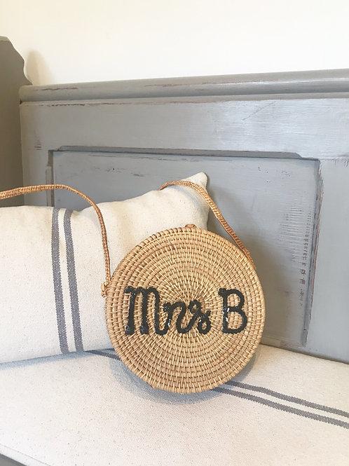 Personalised Santorini bag