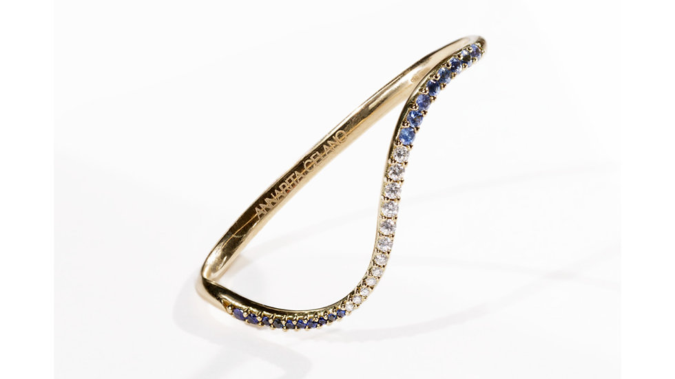 ONDA DIAMOND 2 FINGER CUFF