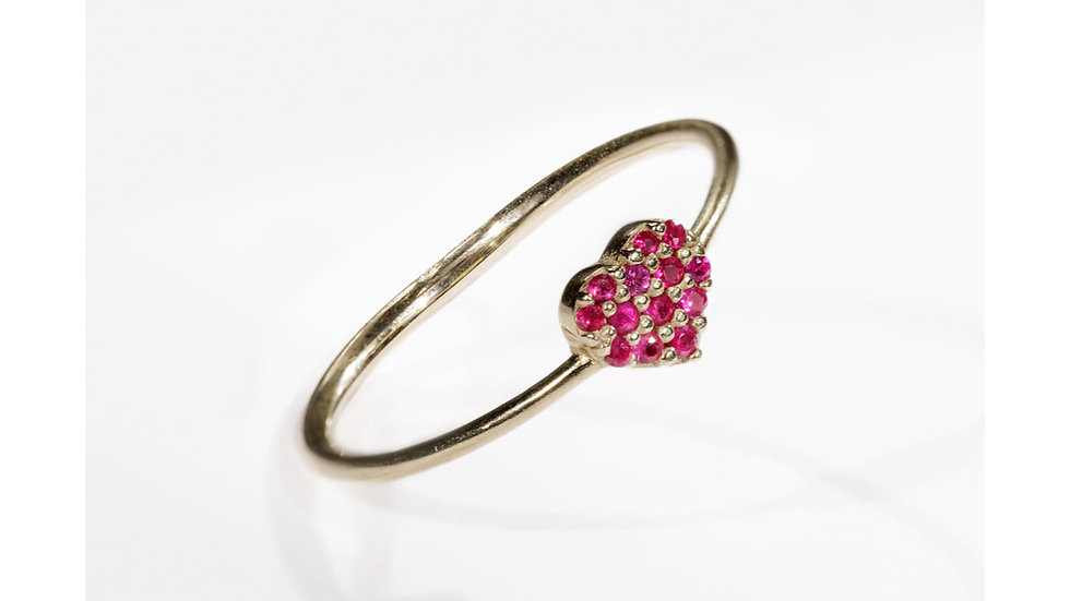 WISDOM HEART DIAMOND RING