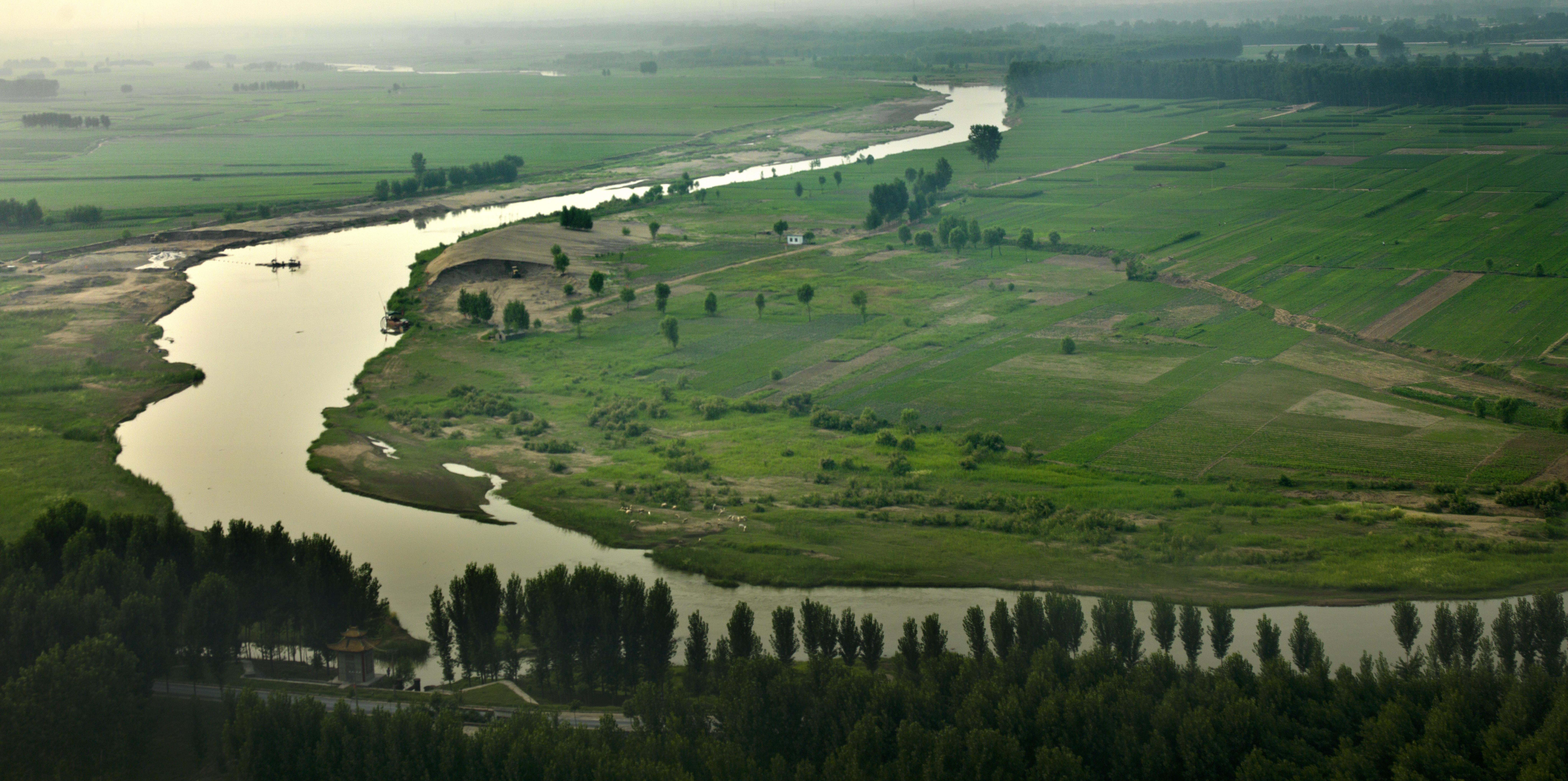 Sur les rives du fleuve jaune...