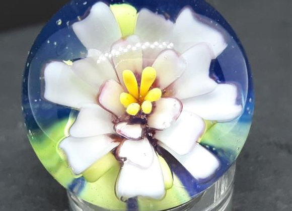 Marble - Pink Flower with Cameo
