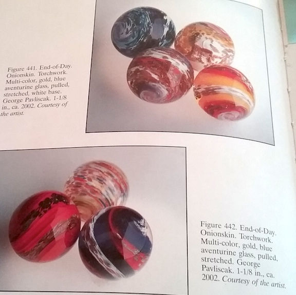 A book about Modern Glass Marbles, featuring George Pavliscak