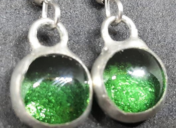 Remeber that time you wanted green earrings Pavliscak Studios
