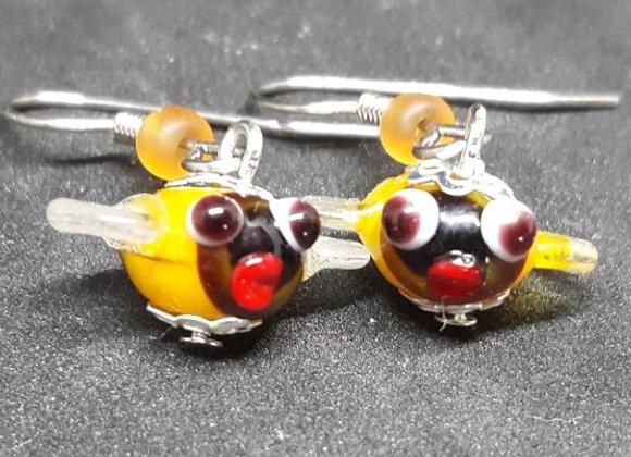 Bee Earrings 3