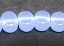 Bead Set Opaline Blue Spacers -6