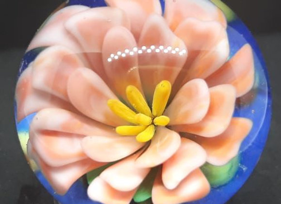 Pink Flower Marble by George Pavliscak