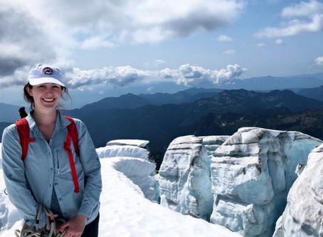 Students explore glacier science with researcher Clara Deck