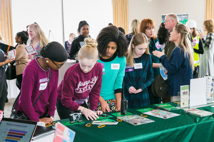 Exploring pathways at Girls STEAM Ahead