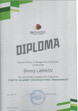 Skolkovo Diploma SSA1 Larikov-1