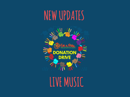 Fundraiser update - Live music, donation updates and more!