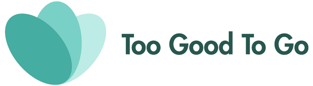 This is the logo for the company Too Good To Go