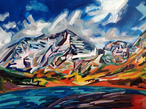 Maroon Bells Elk Mountains
