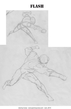 Workshop: How To Draw Superheros