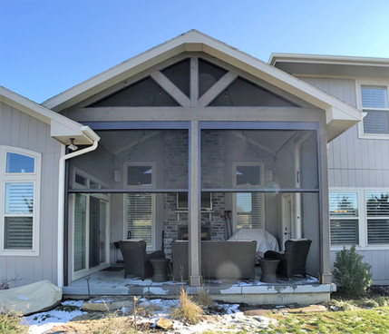 Motorized Screened in Porch