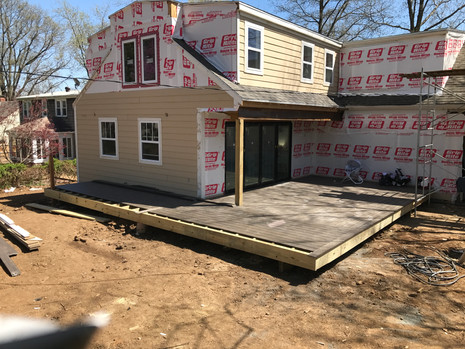 Home Addition in Progress