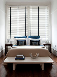 Wooden blinds in Dunfermline