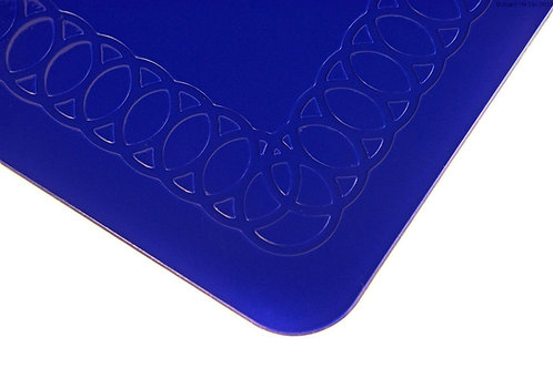 Anti Slip Rectangle Table Mat 35cmx25cm - Blue
