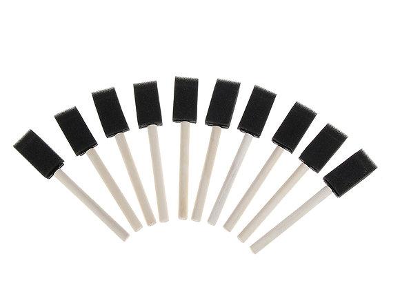 5/10pc Mini Automotive Air Conditioner Vent Brush Auto Detailing Sponge Brush
