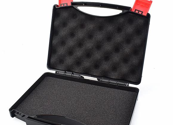 NEWACALOX Plastic Storage Case Tool Box With Sponge Mats